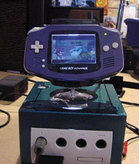 Play GameCube games on GBA screen