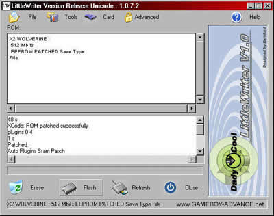 x-rom software drivers gba xrom
